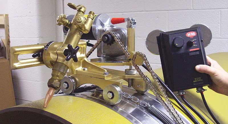 wheel heavy duty motorized beveling machine head hm pipe beveling machine company