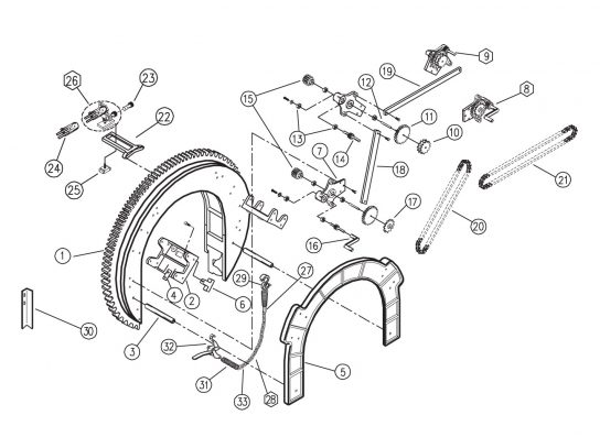 Standard Saddle Type Beveling Machine